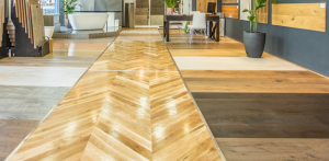 timber flooring Sandown Village